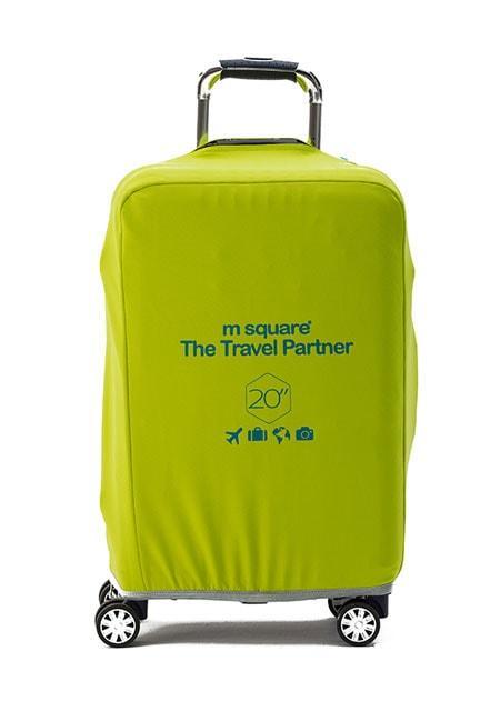 Чохол на валізу S лимонний