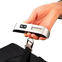 Весы-кантер цифровые для багажа Camry CH14 (±10g/50kg) с термометром, подсветкой