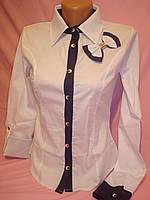 """Рубашка женская """"трансформер""""с бантиком, фото 1"""