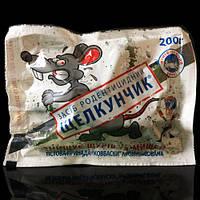 """Родентицид """"Щелкунчик"""" тесто (колбаски) 200 г — тестовая приманка для уничтожения крыс и мышей"""