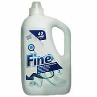 Жидкий стиральный порошок Well Done Fine гель для белого 3л