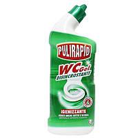 Дезинфицирующей гель для чистки унитаза Pulirapid WC 750мл