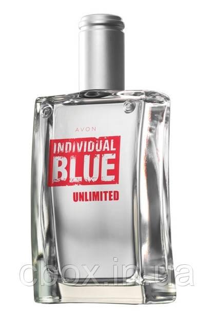 Туалетна вода чоловіча Individual Blue Unlimited, Avon, Індивідуал Блу Анлімітед, Ейвон, 95367,100 мл