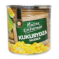 Кукуруза Nasza Spizarnia 340г