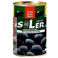 Маслины без косточки Soler солер 280г