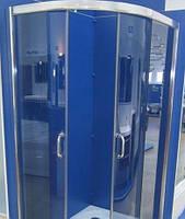Душевая кабина SANTEH 1115G(115*85*195) правая поддон 36 см хром/графит