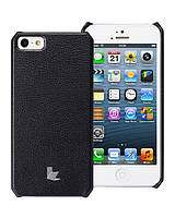 Чехол для iPhone 5/5S - Jison Microfiber wallet cover (черный)