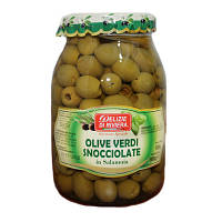 Оливки Elizie di riviera, Olive Verdi snocciolate 950г