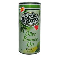 Оливковое масло второго отжима GOCCIA d'oro ж/б 750мл