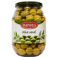 Оливки Baresa с косточкой 950/600г