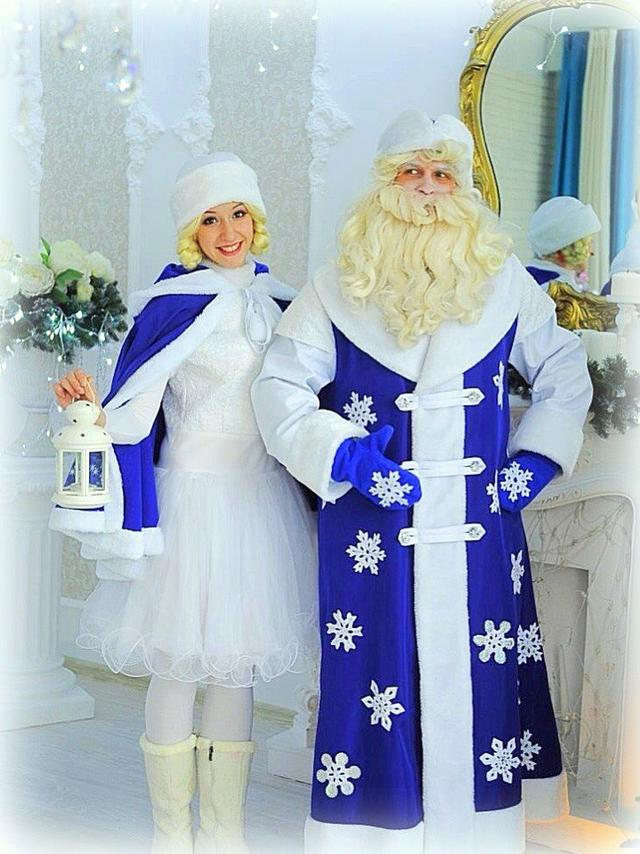 Дед мороз и снегурочка киев новогодний утреник в детский сад школу