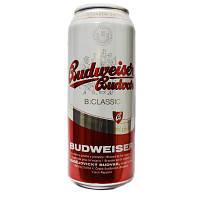 Пиво Budweiser Gudvar 4% 0,5л