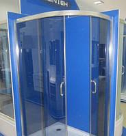 Душевая кабина SANTEH 1115G(115*85*195) леваяая поддон 36 см хром/графит