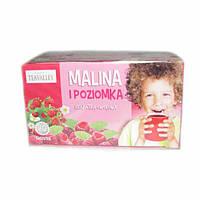 Чай детский фруктовый Teavalley Strawberry 40г/20 пакетов