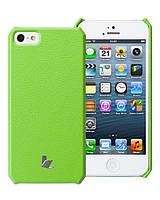 Чехол для iPhone 5/5S - Jison Microfiber wallet cover (зеленый)