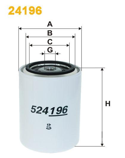 Фильтр для охлаждающей жидкости (производитель WIX-Filtron) 24196 - ДЕТАЛИ АВТО в Львове