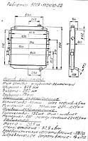 """Радиатор охлаждения двигателя МАЗ 3-х рядный (производство """"Авторадиатор"""") 500А-1301010-02"""