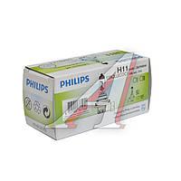 Лампа накаливания H11 12V 55w PGJ19-2 H LongerLife Ecovision (производитель Philips) 12362LLECOC1