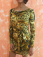 Платье женское ZEAN леопард, 38