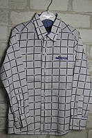 Рубашка приталенная в клетку Armani  5-7 лет