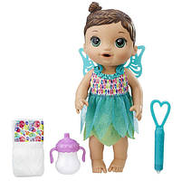 Baby Alive Кукла пупс Малышка Фея брюнетка Face Paint Fairy Brunette B9724