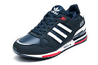 Зимние мужские кроссовки Adidas ZX750, на меху, темно-синий, р. 41 42