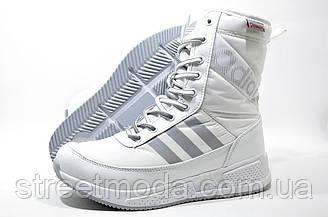 Женские зимние сапоги в стиле Adidas Primaloft