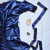 Домашний женский  атласный  халат
