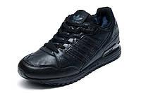 Зимние мужские кроссовки Adidas ZX750, на меху, черный, р. 42 43 44