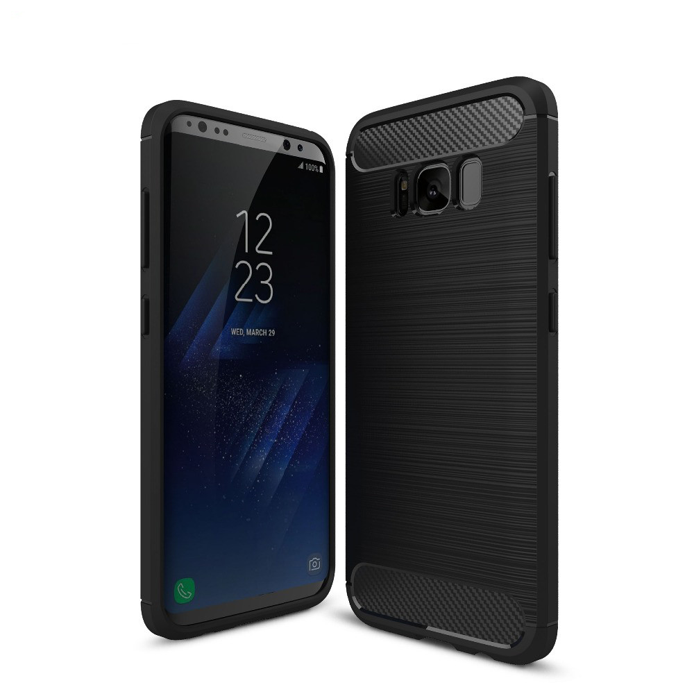Чехол для Samung Galaxy S8 Carbon