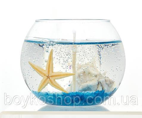 Свеча гелевая аквариум