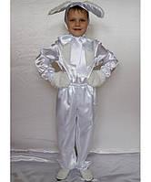 Детский карнавальный костюм для мальчика Зайчик