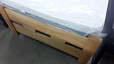 Кровать деревянная односпальная SPACE 90х200 (Спейс) Микс мебель, цвет  бук натуральный масло-воск, фото 3