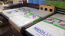Кровать деревянная односпальная SPACE 90х200 (Спейс) Микс мебель, цвет  бук натуральный масло-воск, фото 2