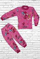 """Пижама  велсофт для девочки """"Том и Джерри"""""""