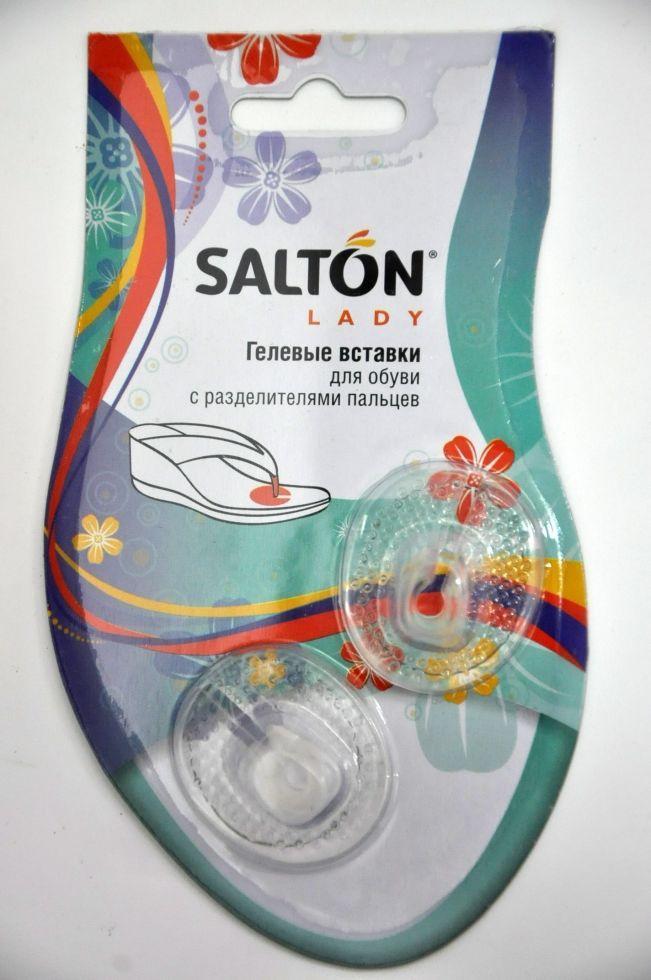 Гелевые вставки для обуви с разделителями пальцев Salton lady (пара).