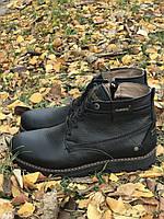 Зимние кожаные ботинки, фото 1