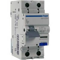 Диференційний автоматичний вимикач 1+N, 20A, 30 mA, С, 6 КА, A, 2м, фото 1