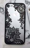 Чехол для iPhone 6Plus  6sPlus кружево, фото 1