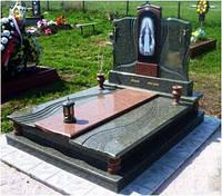 Пам'ятник подвійний з закритим квітником