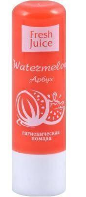 Гигиеническая помада Watermelon (Арбуз) Fresh Juice 3,6г., фото 2