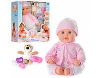 Кукла пупс 5239 Мила с Мишкой