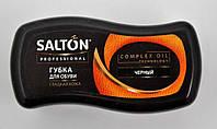 Губка для обуви из гладкой кожи Волна мини черный Salton PROF