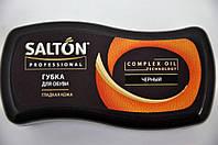 Губка для обуви из гладкой кожи Волна черный Salton PROF