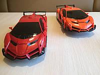 Машинка Робот-Трансформер на радіокеруванні, червоний, фото 1