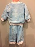 Теплый костюм из махры для мальчика, фото 3