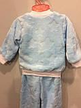 Теплый костюм из махры для мальчика, фото 4