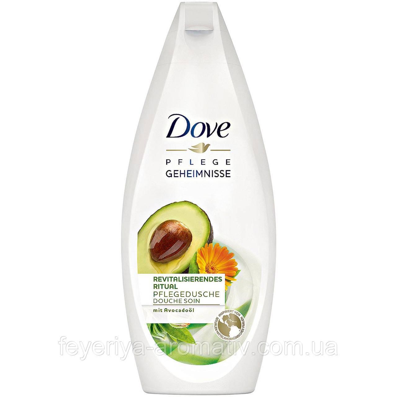 Гель для душа Dove Geheimnisse авокадо и календула, 250гр (Германия)