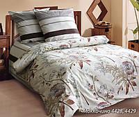 Евро комплект постельного белья ТМ Блакит (Белоруссия), Моккочино (поплин)