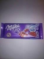 Шоколад Milka Bubbly Alpine milk 100гр